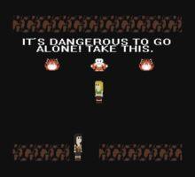 It's Dangerous to Go Alone, Xena by kayllisti