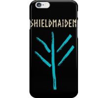 shieldmaiden - lagertha symbol iPhone Case/Skin
