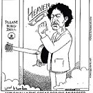 Bob Dylan In Heaven by Londons Times Cartoons by Rick  London