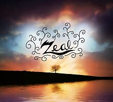 Word of The Day: Zeal by redvelvetpanda