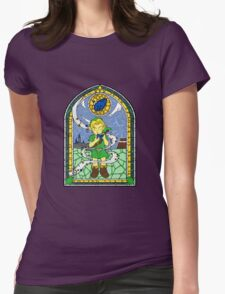 Stained Glass Melody Womens Fitted T-Shirt