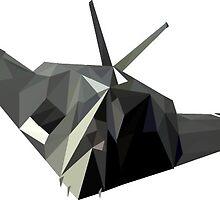 Stealth Bomber by kreida
