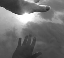 Reaching Out~ In a puddle, CO by M-Ananomus