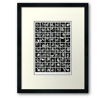~ 70 bits of randomness ~  Framed Print