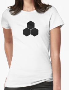 Future Foundation - Black Womens Fitted T-Shirt