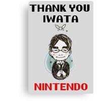 Thank You IWATA Canvas Print