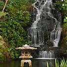 Peace Garden Falls and Flame by Werner Padarin