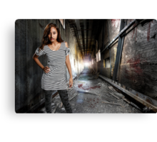 Valley Of The Shadows Canvas Print