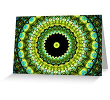 Glass Ceiling Greeting Card
