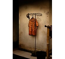 Orange shirt Photographic Print