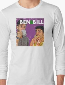 Ben & Bill - Hot Dogs and Coffee Long Sleeve T-Shirt