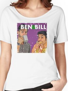 Ben & Bill - Hot Dogs and Coffee Women's Relaxed Fit T-Shirt