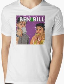 Ben & Bill - Hot Dogs and Coffee Mens V-Neck T-Shirt