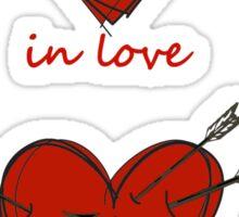 Your Heart on Fandoms Sticker