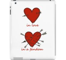 Your Heart on Fandoms iPad Case/Skin
