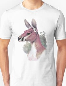 Red kangaroo portrait Unisex T-Shirt