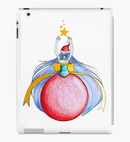 Christmas ball Princess iPad Case/Skin