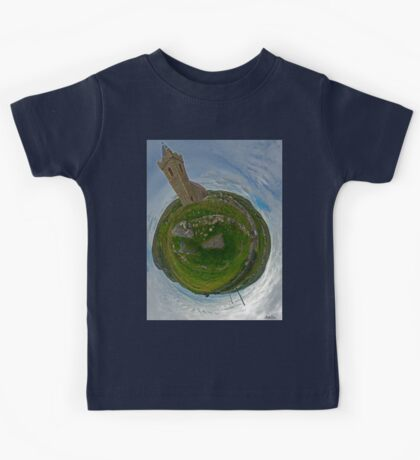 Glencolmcille Church - Sky Out Kids Tee