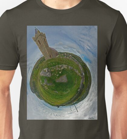 Glencolmcille Church - Sky Out Unisex T-Shirt