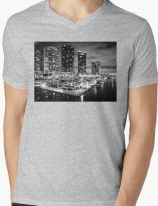 Docklands , Melbourne  Mens V-Neck T-Shirt