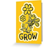 Beesty Grow - for Oxfam Greeting Card