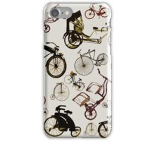 Classic bicycles iPhone Case/Skin