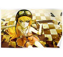 Bakemonogatari swordie Poster