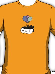 Penguins can fly too! T-Shirt