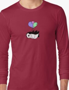Penguins can fly too! Long Sleeve T-Shirt