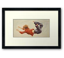 Trampoline Boy Part 1 Framed Print