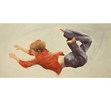Trampoline Boy Part 1 Photographic Print