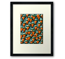CARROTS Framed Print