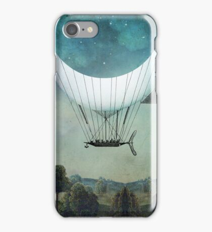 The Moon Ship iPhone Case/Skin