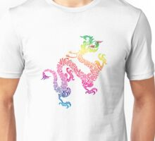 Rainbow Dragon Unisex T-Shirt