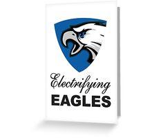 Electrifying Eagle Greeting Card