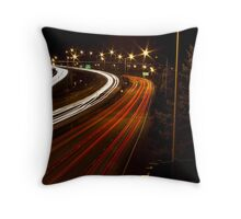 Rush Hour {I-405} Throw Pillow