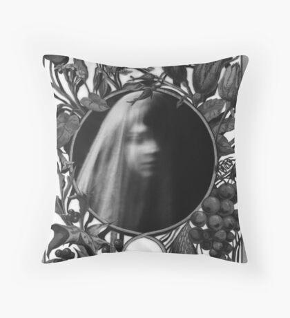 Garden Of  Grief : Paper Bunnies & Light Witch  Throw Pillow
