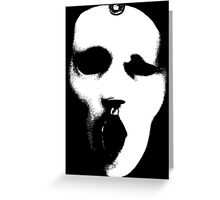 Post Op Mask Greeting Card