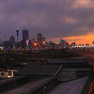 View Big..Johannesburg City Skyline by JandeBeer
