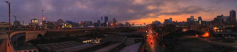 View Big..Johannesburg City Skyline by JandeBeer