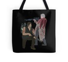 Carol Peletier and Daryl Dixon (Version 2) - The Walking Dead Tote Bag