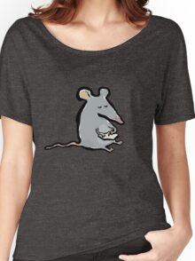 scribbling mouse Women's Relaxed Fit T-Shirt