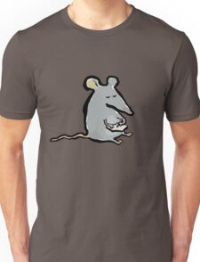 scribbling mouse Unisex T-Shirt