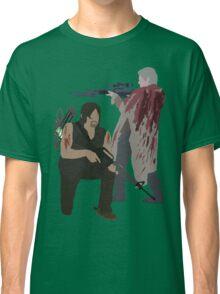 Carol Peletier and Daryl Dixon (Version 2) - The Walking Dead Classic T-Shirt