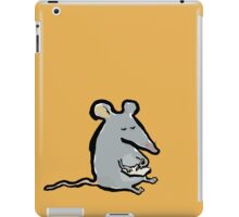 scribbling mouse iPad Case/Skin