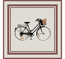 Lots of bicycles Photographic Print