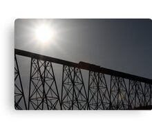 Canadian Pacific Silhouette Canvas Print