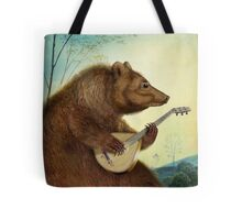 Mandolin Bear Tote Bag