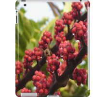 Bee in Red iPad Case/Skin