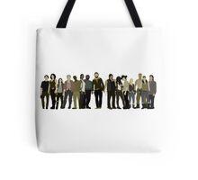 The Walking Dead Cast Tote Bag